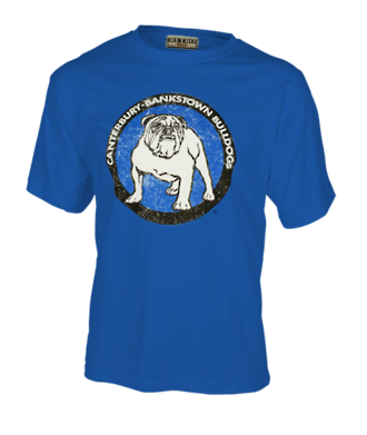 Canterbury Bulldogs Retro Blue Tee