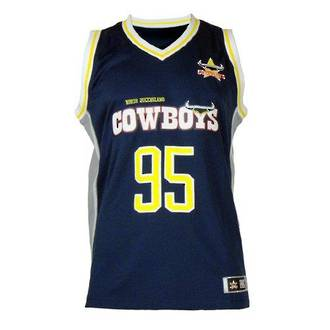 North Queensland Cowboys Courtside Singlets
