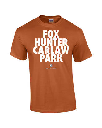 "Carlaw Park ""Fox Hunter"" Texas Orange Tee"