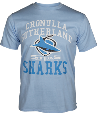 Sharks Mens 2013 Supporter Tee