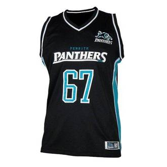 Penrith Panthers Courtside Singlets