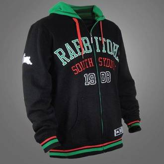 South Sydney Rabbitohs NRL Hoodie New Year 2014