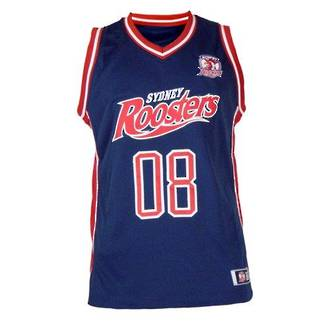 Sydney Roosters Courtside Singlets