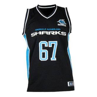 Cronulla Sharks Courtside Singlets