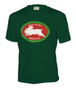 South Sydney Rabbitohs Retro Green Tee