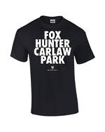 "Carlaw Park ""Fox Hunter"" Black Tee"