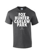 "Carlaw Park ""Fox Hunter"" Charcoal Tee"