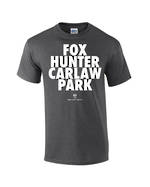 "Carlaw Park ""Fox Hunter"" Dark Heather Tee"