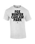 "Carlaw Park ""Fox Hunter"" White Tee"