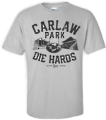 Carlaw Park Die Hards Tee | Original Sports Grey