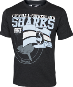 Sharks Heritage Tee Shirt New 2015