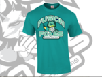 Fusion Foxes Supporters Tee Shirt Teal Green