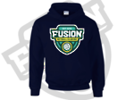 Fusion Netball Shield Supporters Hoodie Navy