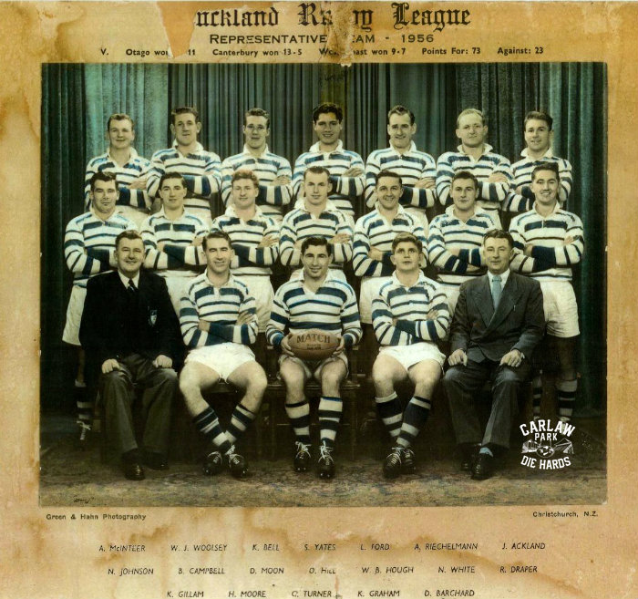Auckland Rugby League Representative Team 1956