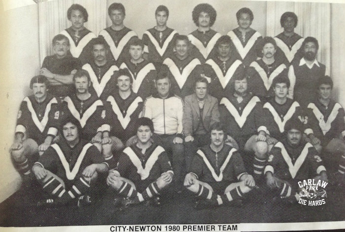 City Newton Dragons Rugby League Premiers Team 1980
