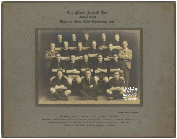 City Rovers Rugby League Seniors Team 1925