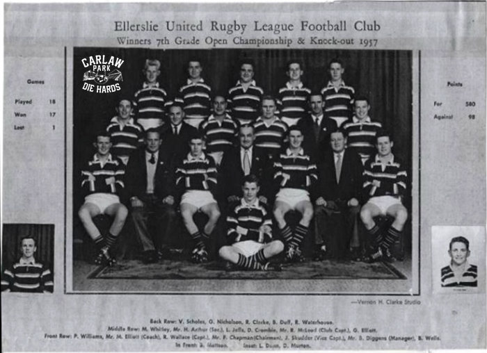 Ellersile United RLC 7th Grade Open Champions 1957