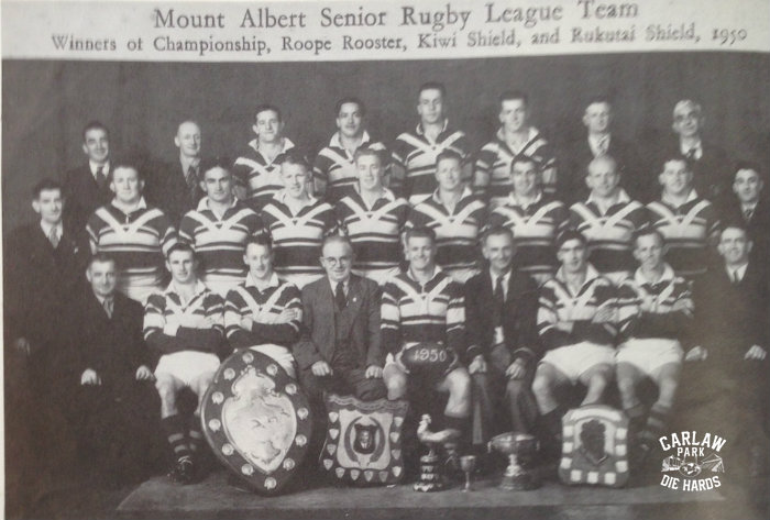 Mt Albert Rugby League Senior Team 1950