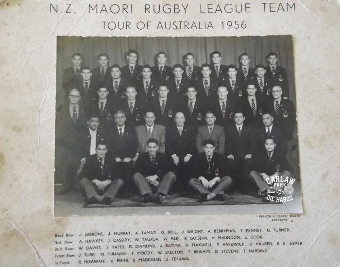 NZ Maori Rugby League Team Tour Australia 1956
