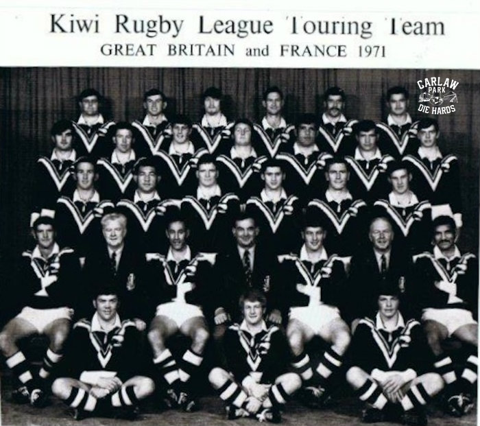 New Zealand Rugby League Kiwis Team 1971