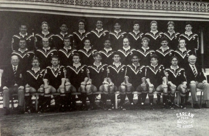 New Zealand Rugby League Kiwis Team 1982