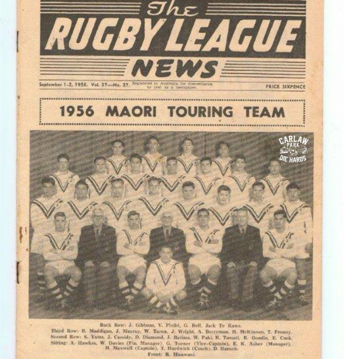 New Zealand Rugby League Maori Touring Team 1956