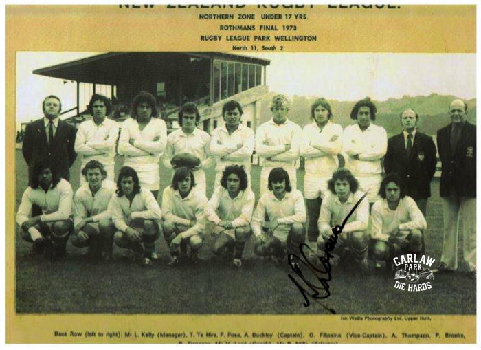 New Zealand Rugby League Northern Zone Team U17 1973