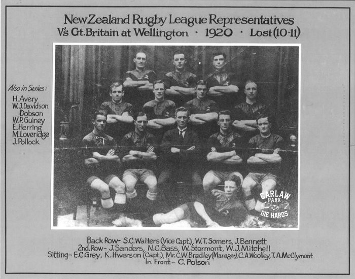 New Zealand Rugby League Team 1920
