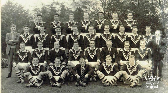 New Zeland Rugby League Kiwis Team 1961 Tour GB