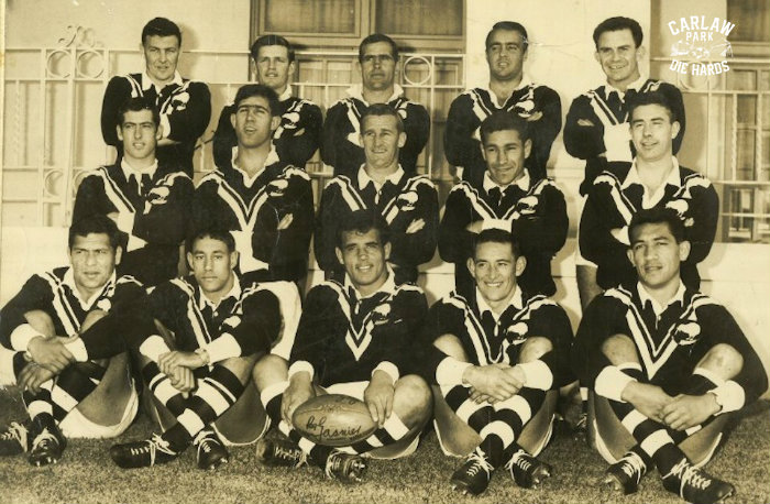 New Zeland Rugby League Kiwis Team 1967 vs 1st Test Aus at SCG
