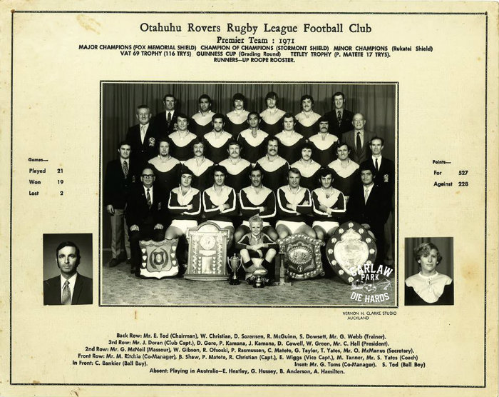 Rugby League Team Photos 1970s & 1980s