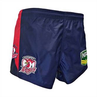 ISC Roosters NRL Away Shorts
