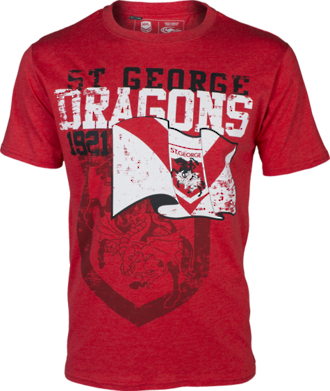 Dragons Heritage Tee Shirt New 2015