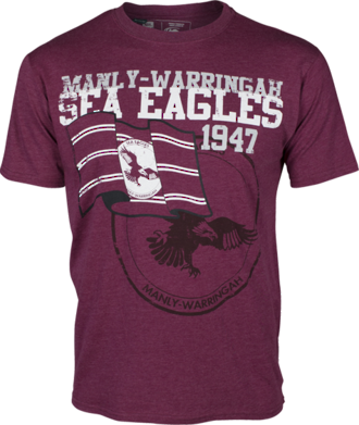 Sea Eagles Heritage Tee Shirt New 2015