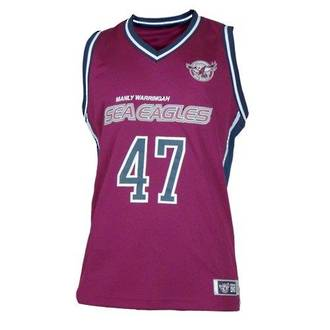 Manly Sea Eagles Courtside Singlets