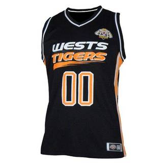 West Tigers Courtside Singlets
