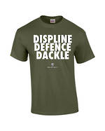 "Carlaw Park ""3D's"" Military Green Tee"