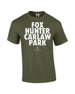 "Carlaw Park ""Fox Hunter"" Military Green Tee"