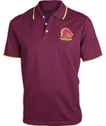 Broncos Mens Supporter Polo