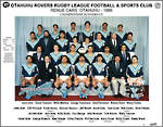 Otahuhu Rovers Rugby League Renue Cars 1986