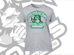 Fusion Foxes Supporters Tee Shirt Sports Grey