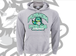 Fusion Foxes Supporters Hoodie Sports Grey
