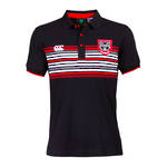 Warriors Tiki Stripe Polo