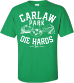 "Carlaw Park Die Hards Tee ""Pirates Green"""